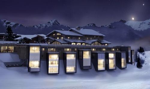 Six Senses Mont Blanc will be the company's first ever ski resort / Six Senses
