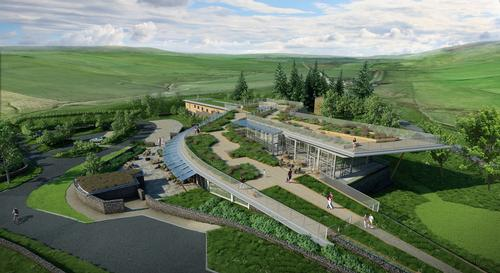 The Sill is aiming to be at the forefront of sustainable design / Northumberland National Park Authority