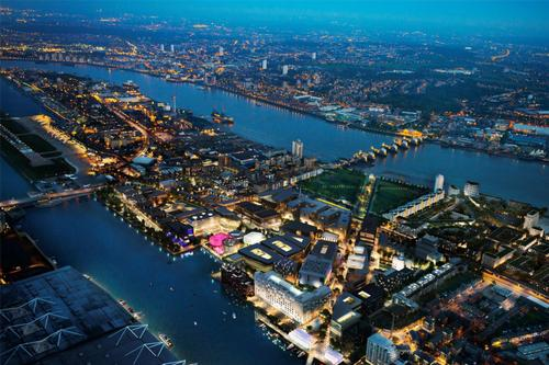 £3.5bn Silvertown development to renew London's derelict Royal Docks