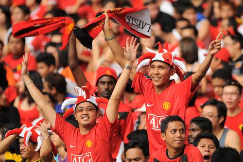 Manchester United has a strong fan base across the globe