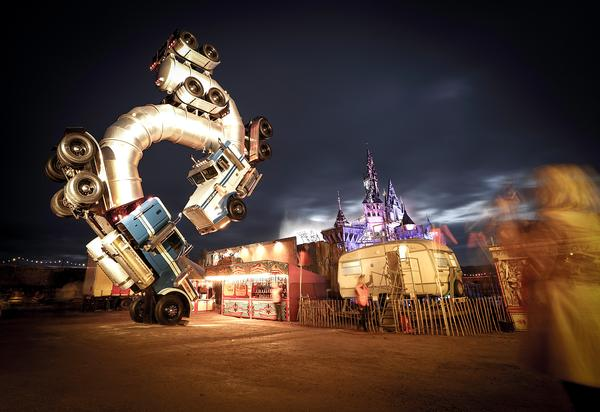 Big Jig Rig by Mike Ross has also been shown at Coachella