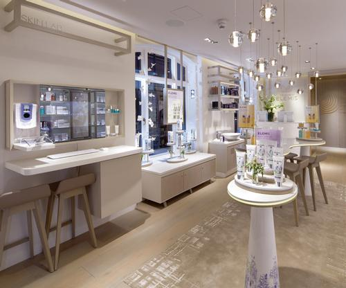 The House of Elemis will serve as a potential concept for distributors to rollout in their own territories, with hopes of further flagships in prominent global locations / Elemis
