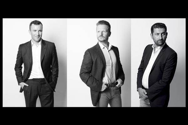 James Balfour, Kevin Yates & Giles Dean / All photos: SMD Photography