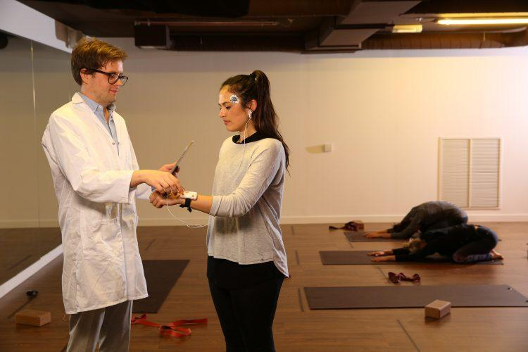Participants who did yoga experienced a 10 per cent increase in mood