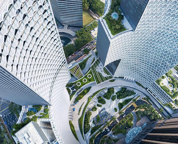 The two towers that form DUO opened in March / Image: Iwan Baan