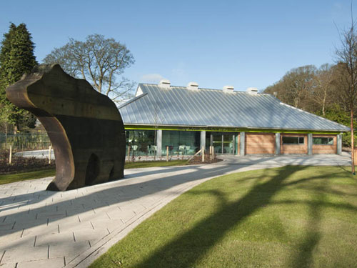 The entrance facility follows a £1m investment at Camperdown Wildlife Park