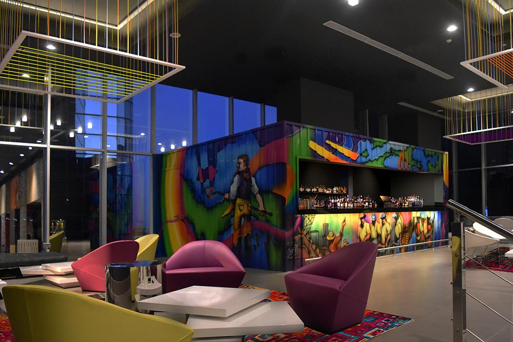W Hotels opens first Central American property with colourful W