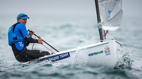 Giles Scott, Finn class, sailing