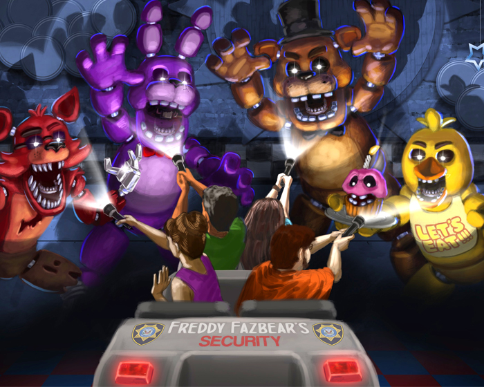 Sally has two new dark rides based on popular franchises Five Nights at Freddy's and The Walking Dead