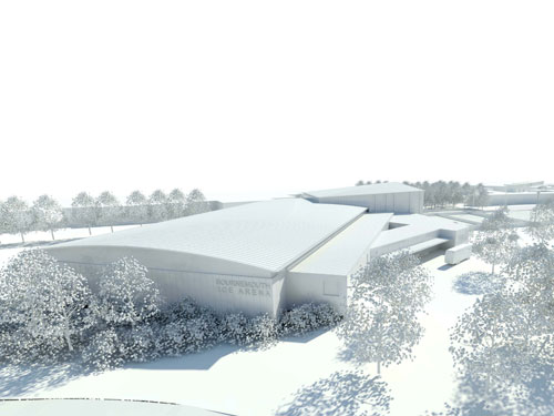 The proposed new Bournemouth ice stadium
