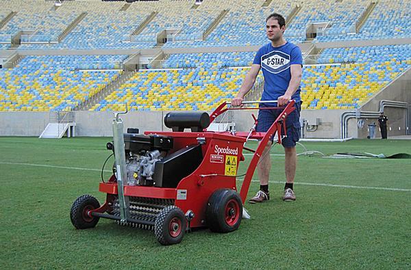 World Cup stadiums are using Redexim machines