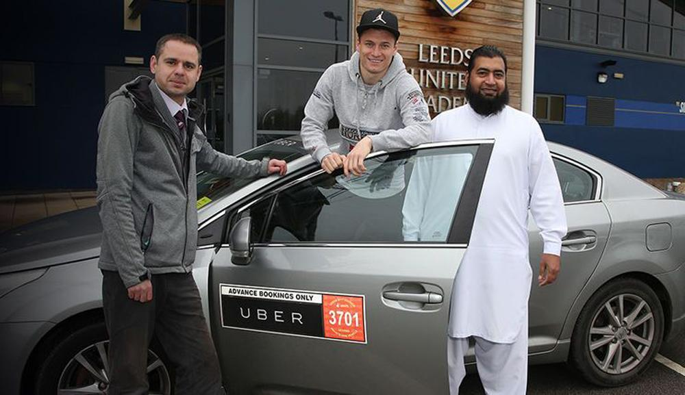 The partnership will see Uber encourage fans not to drive to the stadium / Leeds United FC