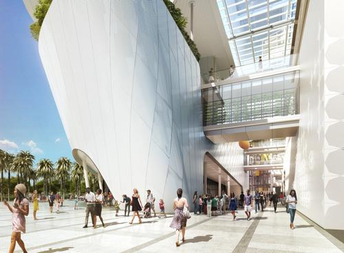 Skanska USA is operating as construction manager and Hill International is overseeing the whole project / Frost Museum of Science