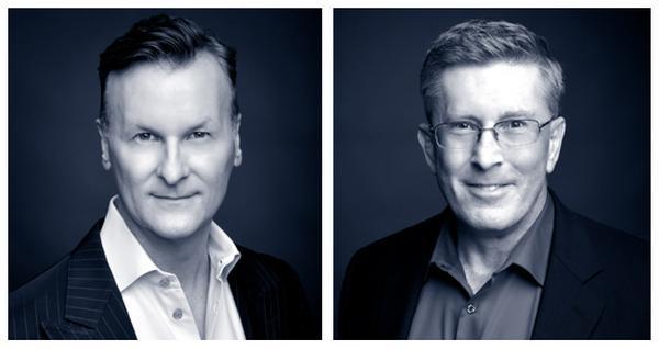 Mark Williamson (left) and Stephen Tharrett
