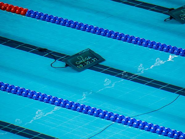 The lap counters will aid swimmers in keeping track of their progress
