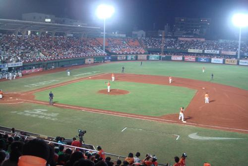 Tainan's 12,000-capacity Municipal Baseball Stadium already occupies the city / Onestanley/Commonswiki