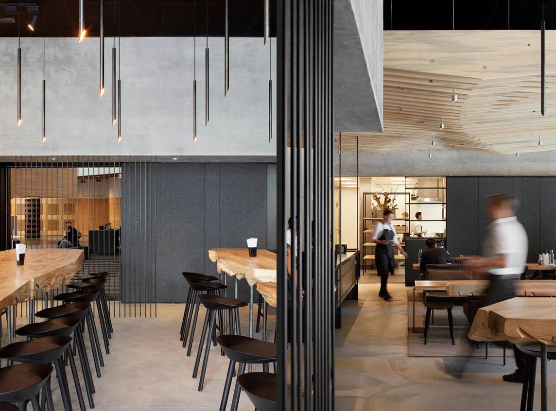 In Situ won in the category for 76 Seats and Over / Aidlin Darling Design
