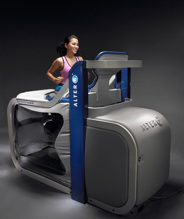 The anti-gravity treadmill is like 'running on air' / shutterstock.com