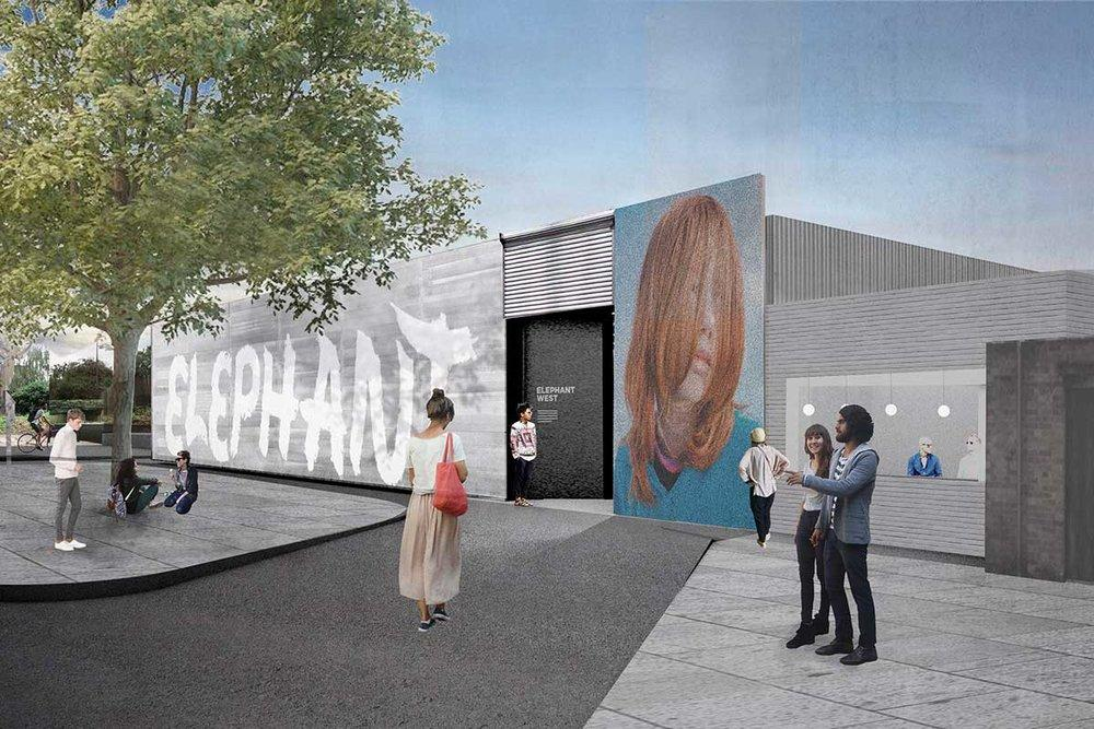 Architects Liddicoat and Goldhill have designed the concept for the arts space