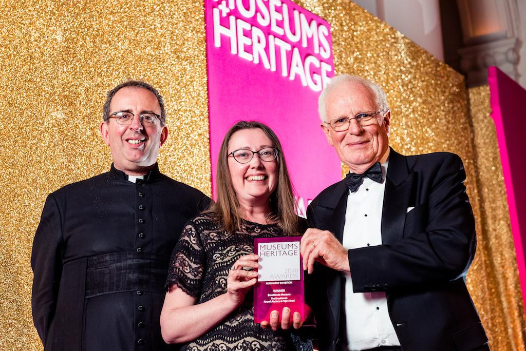 The Brooklands Museum picked up the Permanent Exhibition award for its Aircraft Factory and Flight Shed