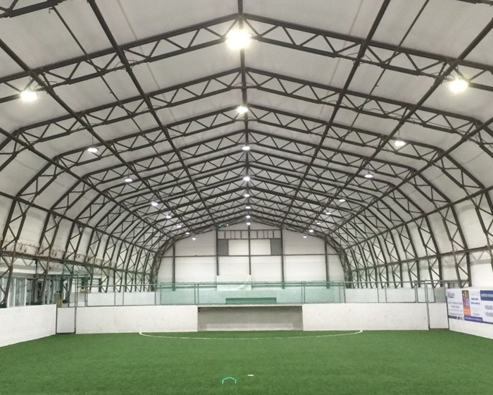 LED system lights up Liverpool sports centre
