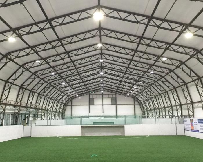 LED system lights up Liverpool sports centre