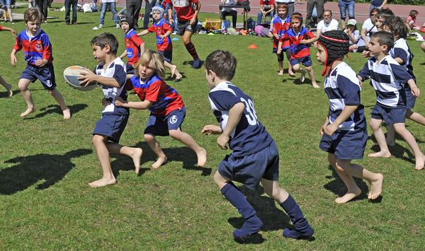 Play is a human right and seen as crucial for children's participation in sport in later life / shutterstock / paolo bona
