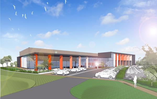 The new £12.5m centre will be operated by Stevenage Leisure