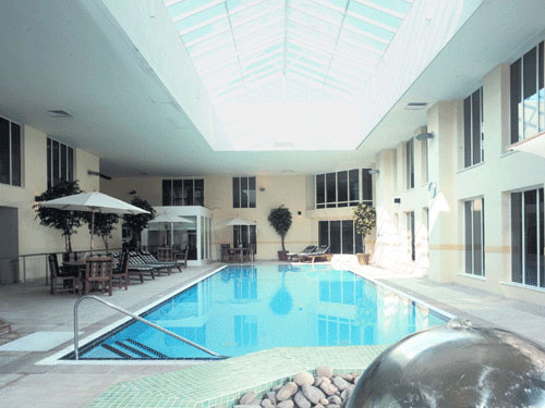 An indoor swimming pool will form part of Norton Park Hotel's spa