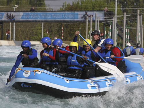 Members of the public can now use the white water centre's facilities