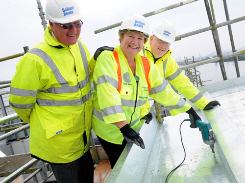 Plymouth's £46.5m Life Centre topped out