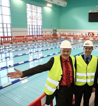 Leigh Indoor centre to open in January