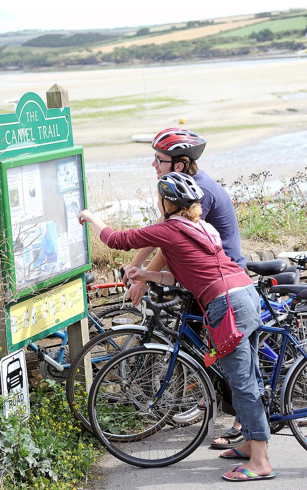 Changes to the trail is expected to bring more visitors to the town and bring in at least £1.2m annually