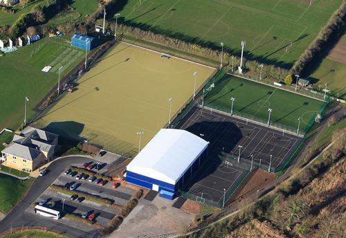 Taunton Vale Sports Club has received a grant of £273,000 / Rubb Building Systems