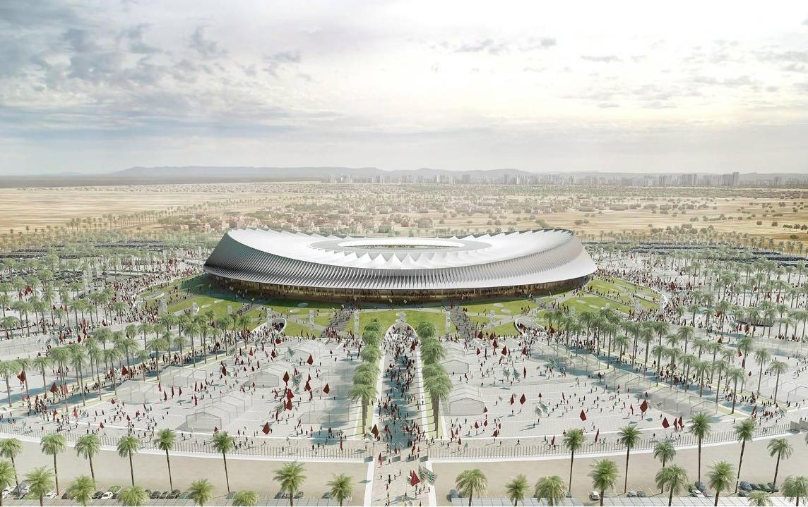 Cruz y Ortiz previously designed stadiums including Atletico Madrid's Wanda Metropolitano / Cruz y Ortiz