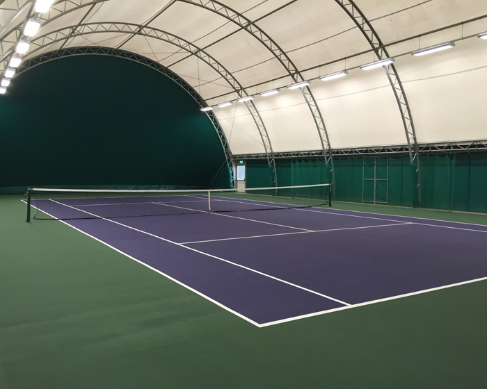 CopriSystems installation revamps Peterborough Town Tennis Club