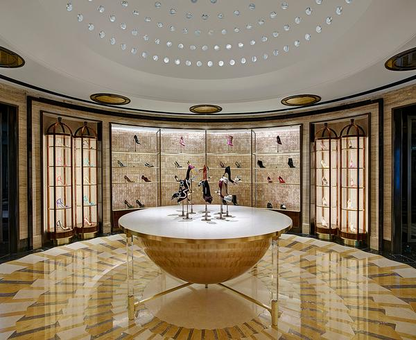 The DCS-designed Shoe Heaven for Harrods