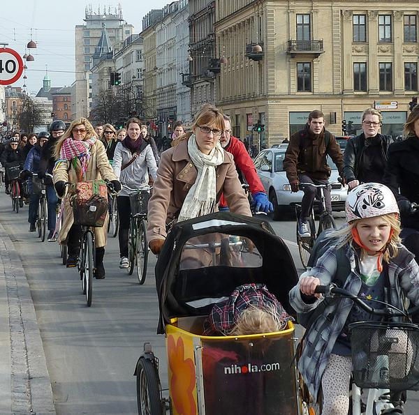 Copenhagen has a long history as a highly bike friendly city