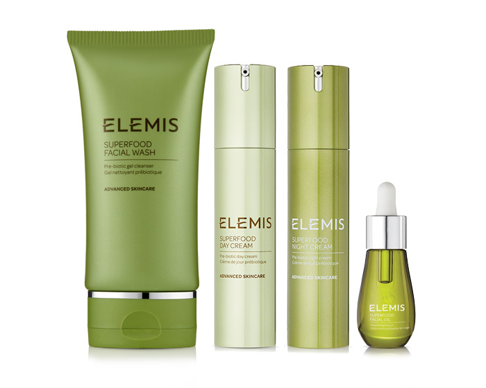 Feed your skin with new ELEMIS' Superfood Skincare System