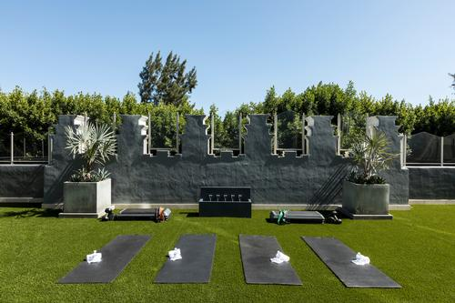 Personal training and fitness classes will be available, including yoga, meditation and boot-camps
