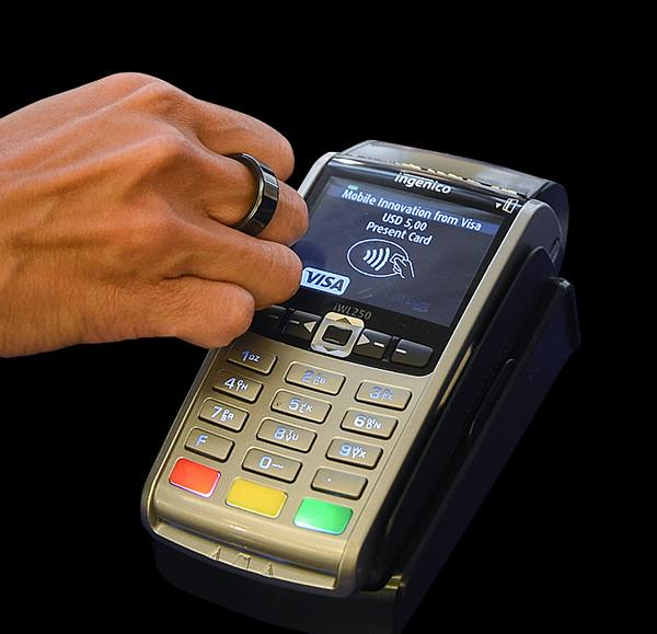 Visa is also introducing a payment ring backed by a Visa account
