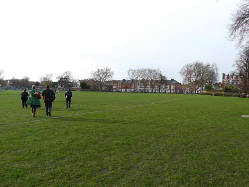 Hurlingham Park is one of the 48 open spaces in Hammersmith and Fulham