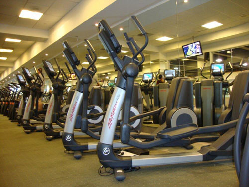 New fitness equipment for London club