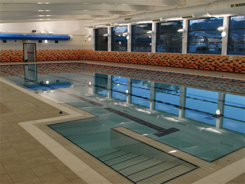 New calderdale facilities officially unveiled for Fitness club with swimming pool