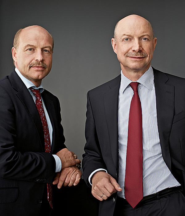 Andreas Dornbracht on the right