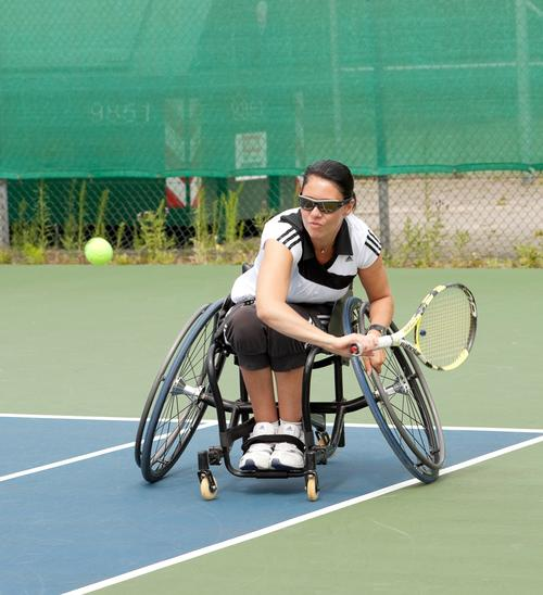 A record number of disabled people now play sport regularly