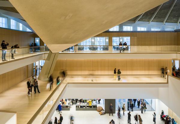 The large atrium / PHOTO: Gareth Gardner