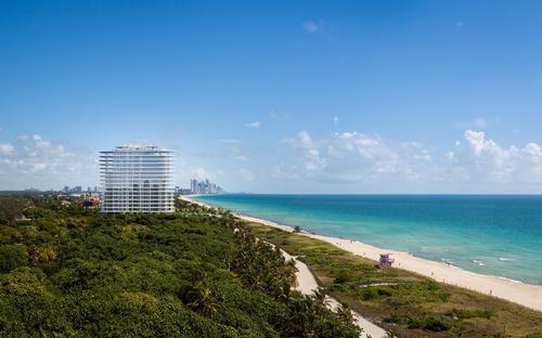 A 35-acre public park, which will also complete the Miami Beach boardwalk, will accompany Eighty-Seven Park