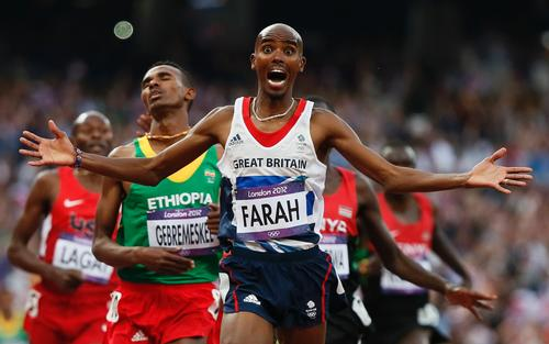 Mo Farah was one of the great success stories of the London 2012 Olympic Games