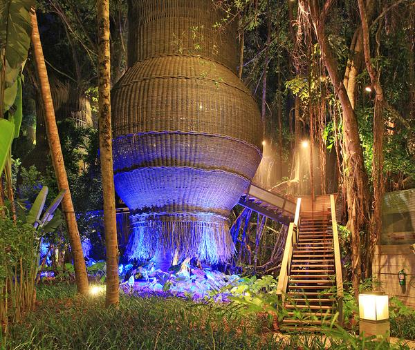 At the Indigo Pearl Phuket, Bensley used the site's mining history as his design inspiration